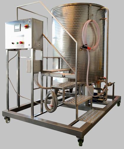 Attrezzatura enologica Reactivateur reidratazione lieviti vino