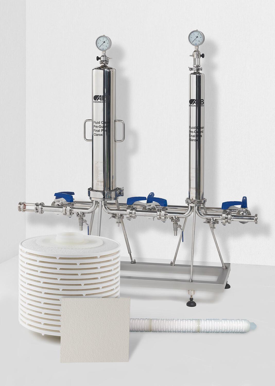 Gamma dei prodotti di filtrazione Danmil AEB