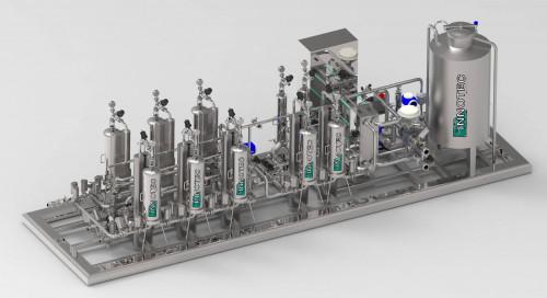 Innotec Impianto di microfiltrazione