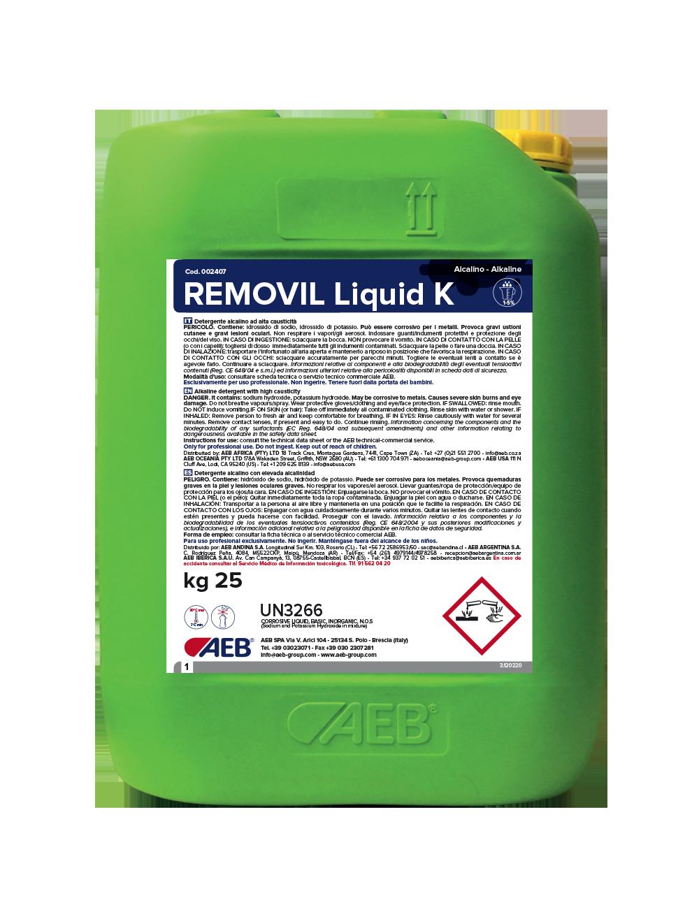 REMOVIL Liquid K