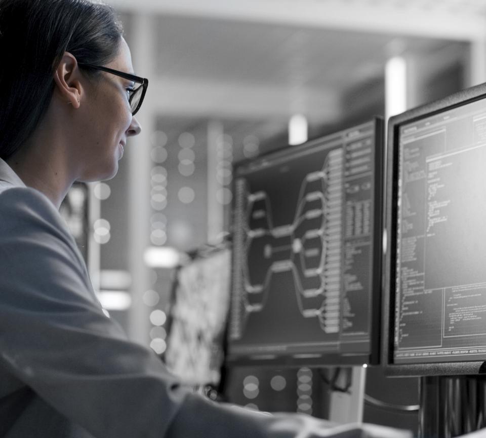 Dettaglio ingegnere INNOTEC monitoraggio Impianto