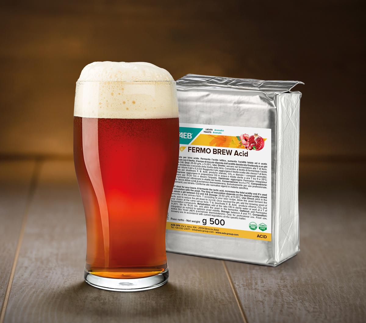 FERMO BREW ACID增酸酵母: 酿造酸啤酒的完美选择