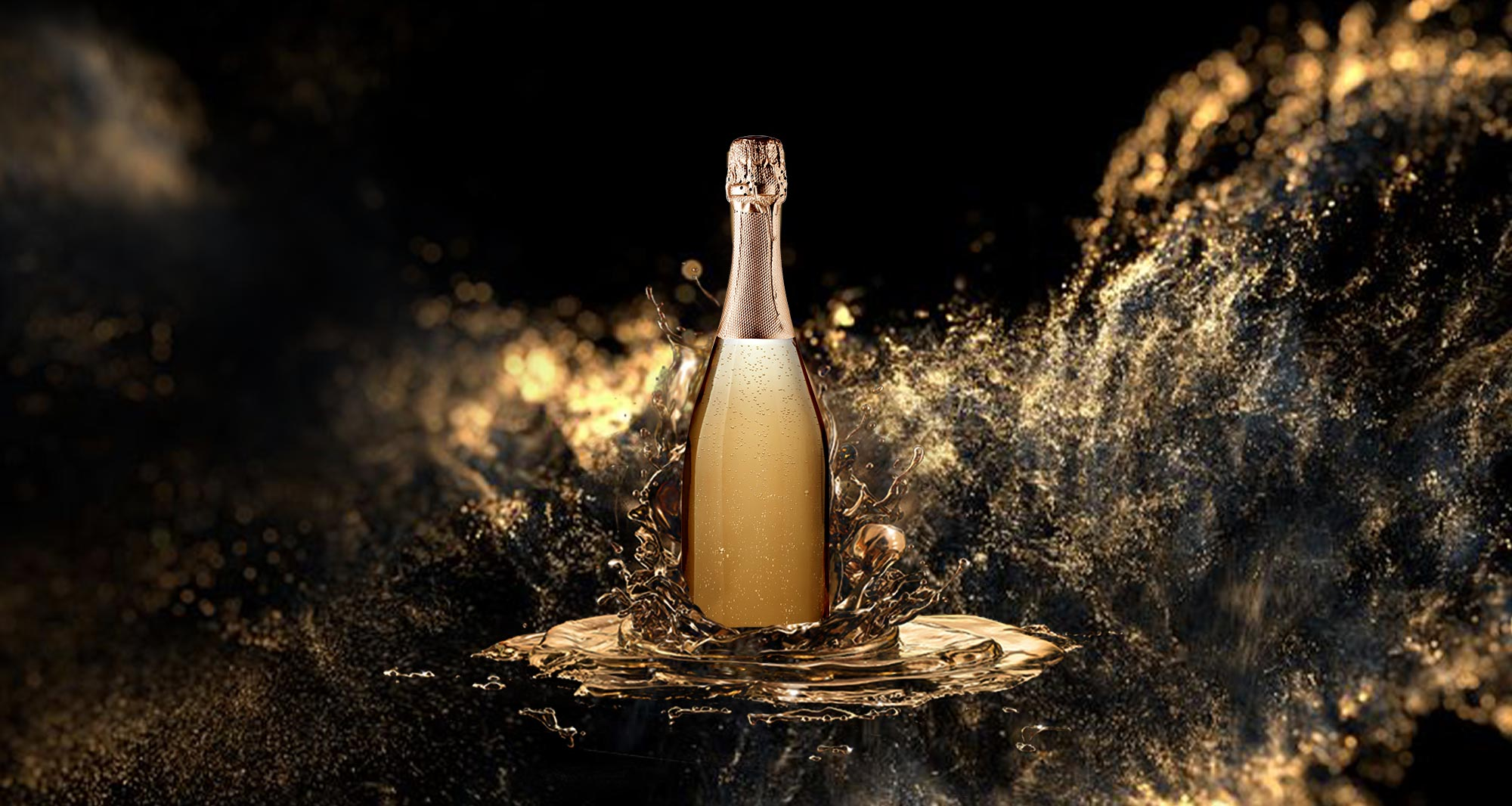 LET YOUR QUALITY SHINE WITH THE CRISTAL LINE FOR SPARKLING WINES