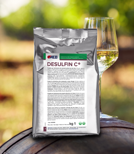 NEUTRALISATION OF THE REDUCED WINE FAULT USING DESULFIN C