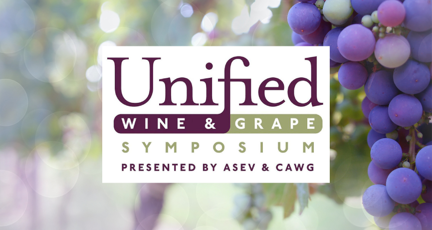 WIR NEHMEN TEIL AN DEM UNIFIED WINE & GRAPE SYMPOSIUM, IN CALIFORNIEN